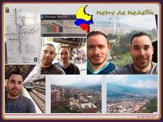 Un paseo por el #Metro de #Medellín maravillosa vista de la #ciudad. #medellin #colombia #travel #travelerstories #traveler #travelfriends