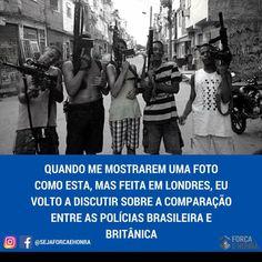 ALEXANDRE GUERREIRO: Diferenças entre as polícias brasileira e britânic...