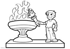 Olympic flame coloring pages Coloring Sheets, Coloring Books, Coloring Pages, Llamas, London Underground Train, Kids Olympics, Olympic Flame, Bristol Harbour, Cute Clipart