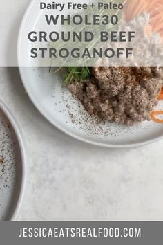 This Whole30 Beef Stroganoff is easy, quick and tasty. It's completely dairy + grain free, making it Paleo, Whole30, Keto + freaking delicious. This meal is budget friendly, perfect for meal prep, and family approved! it's the ideal comfort meal for autumn and fall dinners.