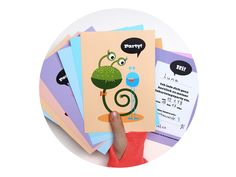 """@Behance: """"Invitations and Decor for Children's Birthday Party"""" by Pia Kolle"""