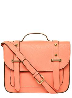 Fluro Mini Structured Satchel