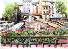 Narbonne, France jigsaw puzzle in Piece of Art puzzles on TheJigsawPuzzles.com