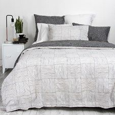 Reversible design which co-ordinates perfectly with other Wallace Cotton ranges.  Duvet Set includes matching standard pillowcases. Extra standard pillowcases can be purchased separately