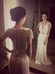 Jenny Packham Nicole 2013 #Bridal #Fitting #ChicParisien