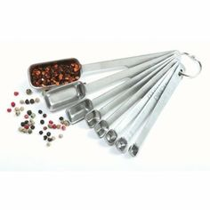 Norpro 18/10 Stainless Steel Measuring Spoon Set. $11.47 Gift idea to go with her Dean & Deluca Spices.