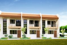 Townhouse Plans Series : PHP-2014011 is a 3 unit row house. Each unit is identical …