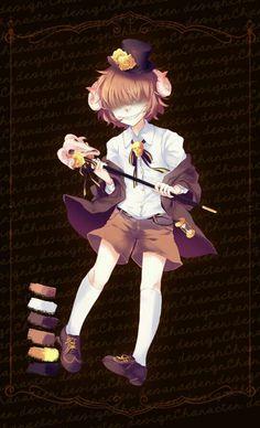 Demon boi (Pocket Mirror RPG Game)  Shota much.. XD