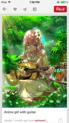 T Anime Music, Piano Anime, Anime Girls, Kawaii Anime Girl, Manga Girl, Beautiful Anime Art, Beautiful Girl Drawing, Manga Comics, Manga Anime