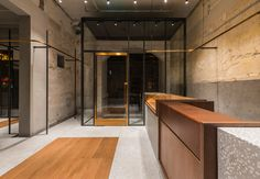 Comme Moi Flagship store by Neri and Hu