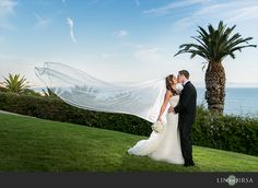 Bel Air Bay Club Wedding   Peter and Christine