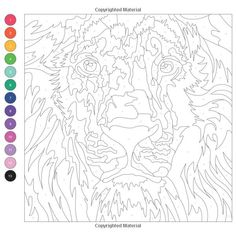 Colortronic: A Kaleidoscopic Coloring Challenge Abstract Coloring Pages, Spring Coloring Pages, Pattern Coloring Pages, Animal Coloring Pages, Free Coloring Pages, Coloring Books, Adult Color By Number, Color By Number Printable, Color By Numbers