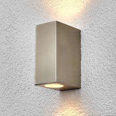 hauteur 9 CM gu10 Lampe Murale wandspot Modena Down-Light noir ip44
