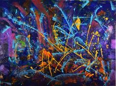"Saatchi Art Artist Nestor Toro; Painting, ""Heliotrope umbral"" #art"