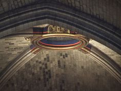 Paris - Cathédrale Notre-Dame . Clef de voûte