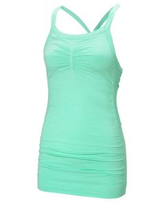 47183f22e392b Niyama Yoga Tank in Mainsail Mint Flame. #sweatybetty Yoga Tank, Sweaty  Betty,