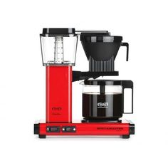 Ekspres do kawy Moccamaster KBG 741 Select Metallic Red - Czerwony metaliczny Coffee Cubes, Drip Coffee Maker, Ice Cube Melting, Juicer Machine, Cafetiere, Great Coffee, Tea Accessories, Coffee Machine, Metallica
