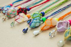Ecuador Summer DIY Pendants.  Great gifts for your attendants.