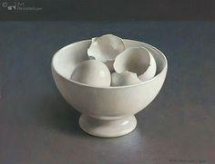 Henk Helmantel, bowl with eggshells