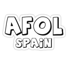 """AFOL Spain by Customize My Minifig"" Stickers by ChilleeW 