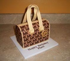 Michael Kors Purse Cake By cakesbykayla on CakeCentral.com