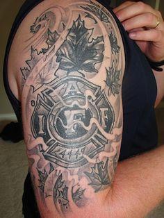 Iaff tattoo