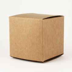Made in USA - 2 Inch Cube Favor Box (2x2x2 100 Boxes) Wedding Favor, Birthday Favor, Baby Shower Favor, Bridal Shower Favor, Small Natural Brown Gift Box (100, Kraft) * Special offer just for you. : Baking desserts tools