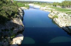 Le Gardon vu du Pont du Gard Le Gard, Pont Du Gard, France, Camargue, Tourism, Vacation, French Resources