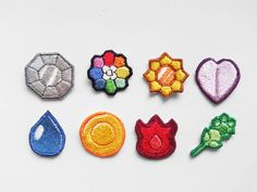 Hey, I found this really awesome Etsy listing at https://www.etsy.com/listing/180150570/pokemon-gym-badge-patches-indigo-league