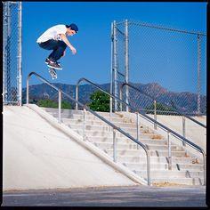 #MarkAppleyard @mark_appleyard - Nollie Flip - Burbank - 2010