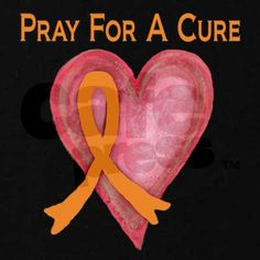 Multiple Sclerosis  Pray For A Cure Kids Dark T-Shirt