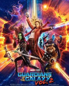 Guardians of the Galaxy Vol.2 Poster