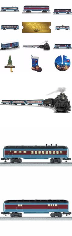 Starter Sets and Packs 81042: 6-30218 Polar Express Set, Add On Cars, Tree Skirt And Stocking And Holder - Lionel -> BUY IT NOW ONLY: $824.95 on eBay!