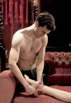 Jamie Dornan Fifty shades of grey red room