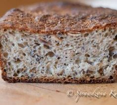 Chleb wieloziarnisty – łatwy Quick Recipes, Gluten Free Recipes, Cake Recipes, Polish Recipes, Polish Food, Food Cakes, Food Inspiration, Appetizer Recipes, Banana Bread