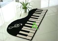DIAIDI Artful Area Rugs Music Piano Carpet,Cartoon Rugs and Carpets for Home Living Room,White with Black Rug,Morden Area Rug DIAIDI Online Shopping to enter or purchase click on Amazon here http://www.amazon.com/dp/B00E5YE04O/ref=cm_sw_r_pi_dp_Q71Xtb16FA3493YN