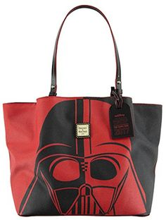 Disney Dooney & Bourke Bag Star Wars Half Marathon The Dark Side  Shopper Tote Bag