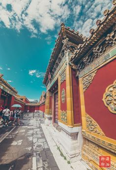 Streets of forbidden city,Beijing