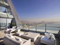 Look At This Terrace Of The W Barcelona Spectacular Suite Barcelona Hotels Starwood Hotels Hotel