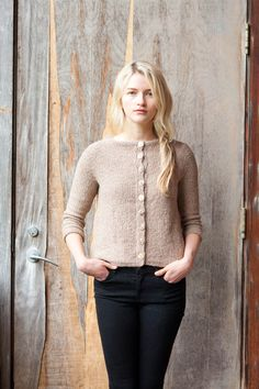Hypatia sweater pattern by Dawn Catanzaro (knitting, seamless, sideways, quince and co)  —featured in New Favorites: Quince cardigans —> http://fringeassociation.com/2013/08/14/new-favorites-quince-and-co-cardigan-knitting-patterns/