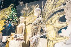 Christmas decoration shopwindows @ Kastner & Öhler fashion department store Graz Visual Merchandising, Christmas Decorations, Painting, Store Windows, Graz, Fairy, Christmas Decor, Painting Art, Paintings