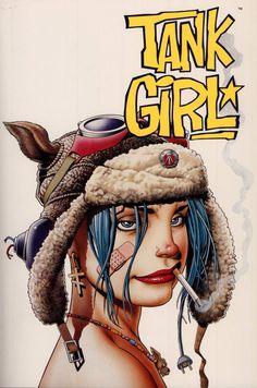 Tank Girl #Illustration #Artistic