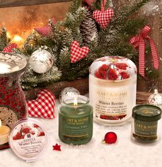 Beautiful festive fragrances for the colder evenings  Heart & Home