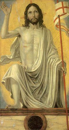 """""""The Risen Christ by Ambrogio Bergognone"""