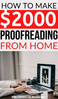 Want to make money by proofreading from home? Great! Here is a detailed interview that teaches you how to make money from home by proofreading files. Online proofreading is among the most profitable careers from home. #earnmoneyfromhome #careersfromhome #proofreadingjobsfromhome #onlinejobsfromhome #sidejobstomakemoney Work From Home Careers, Online Jobs From Home, Work From Home Tips, Earn Money From Home, Earn Money Online, Way To Make Money, How To Make, Online Business Opportunities, Work From Home Opportunities