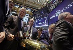 IPO lands Shake Shack's Danny Meyer $342M in 1st day | Shake Shack  #ShakeShack