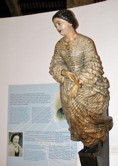 Ship Figureheads at the Maritime Museum, Barcelona, Spain - Travel Photos by Galen R Frysinger, Sheboygan, Wisconsin