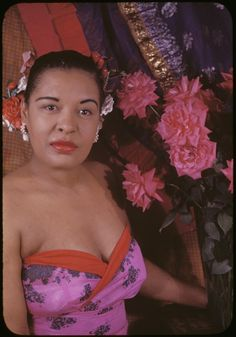 """Billie Holiday, photographed by Carl Van Vechten in 1949. One of my favorite scholars, Columbia University professor Farah Jasmine Griffin, noted the following in her book, """"If You Can't Be Free, Be a Mystery: In Search of Billie Holiday: """"The photographer remembers photographing her for two hours, and while she was initially despondent, she returned from a brief sojourn """"on a different plane, all energy, sympathy, cooperation and interest."""" Photo: Beinecke Rare Book and ..."""