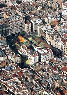 Renovations to Santa Caterina Market Santa Caterina Market renovation. Barcelona, Catalonia
