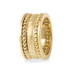 Bijzondere handgemaakte ring van goud